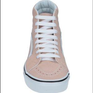 Vans Sk8-Hi Fawn Mauve Womens Skate Shoes